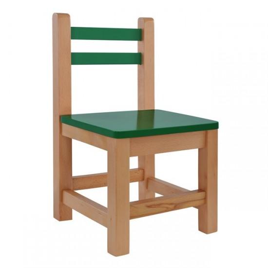 Детски стол Мини зелен