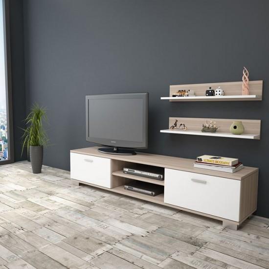 ТВ сет Савана бял