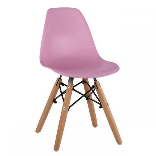Детски стол Туист розов полипропилен