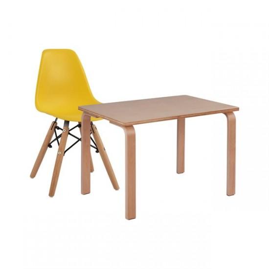 Детски комплект маса със стол Бейби