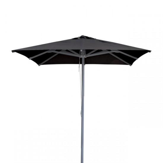 Алуминиев чадър 2,20x2,20 м черен