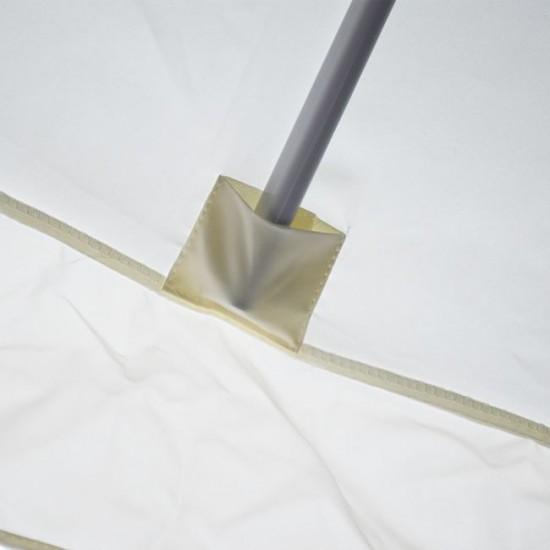 Алуминиев чадър 3x3 м с манивела