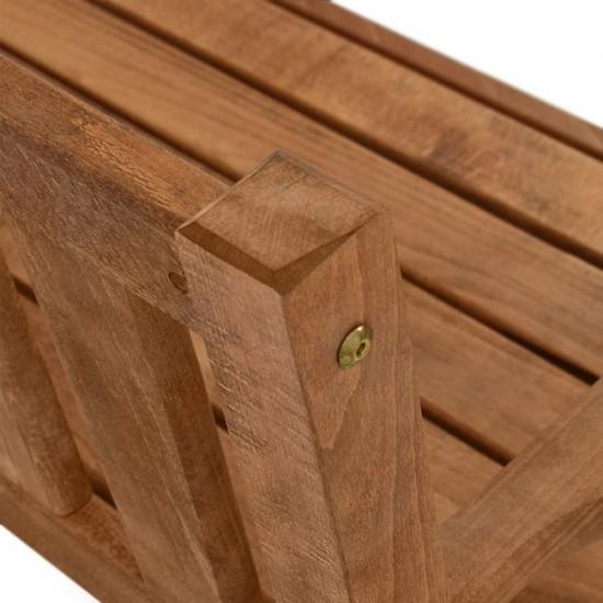 Дървена пейка Наксос