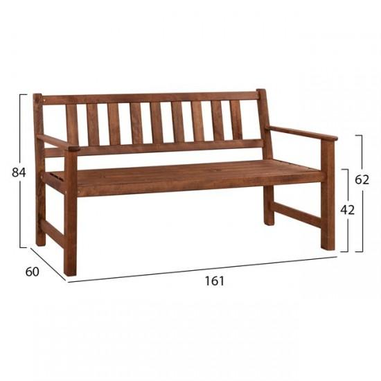 Дървена пейка Наксос 2