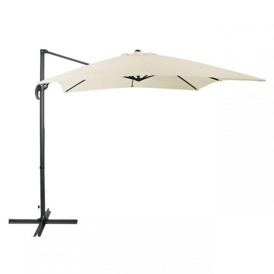 Висящ чадър Про 3x3 м екрю
