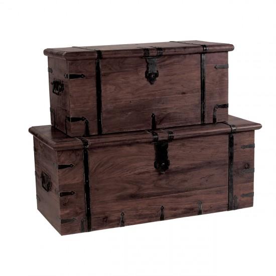 Дървена кутия Шами